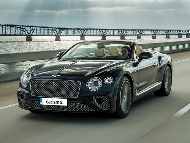 Bentley Continental GT Convertible - recenze a ceny