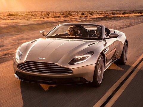 Aston Martin DB11 Volante - recenze a ceny
