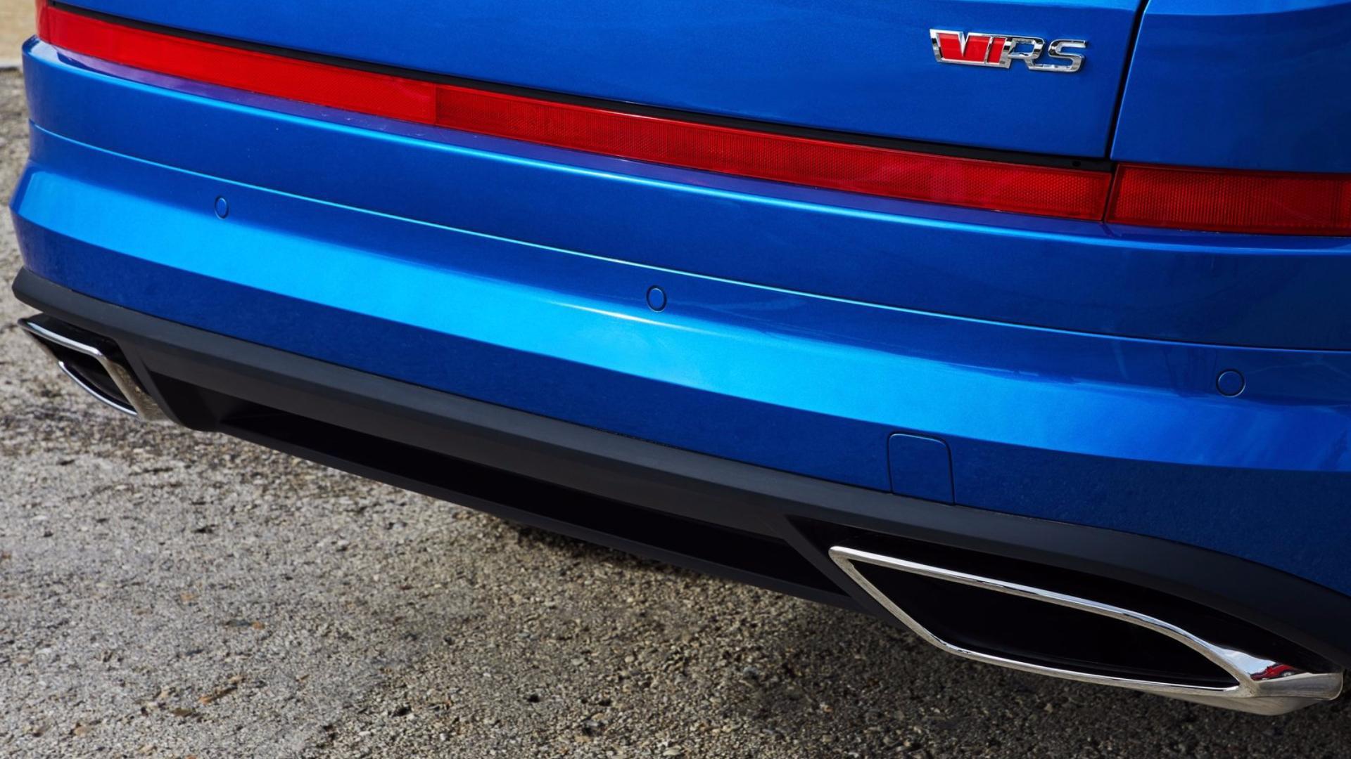 Škoda Kodiaq RS: koncovky výfuku