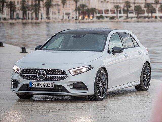 Video: Mercedes-Benz A crash test