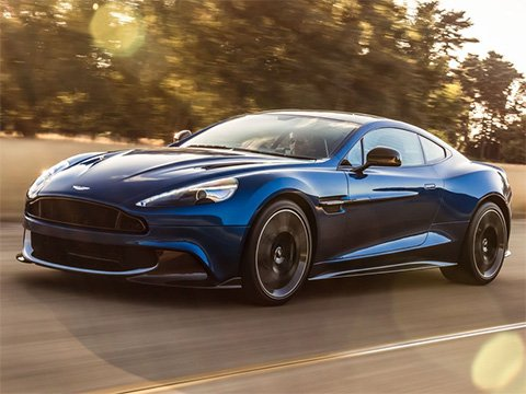 Aston Martin Vanquish Coupe - recenze a ceny