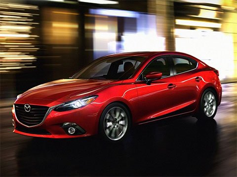 Video: Mazda 3 sedan head-up displej