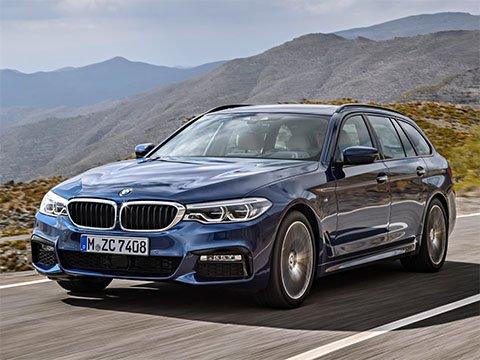 Video: BMW 5 Touring Zrychlení BMW 5 Series 2017 520d G30