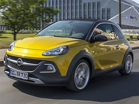 Opel Adam Rocks - recenze a ceny