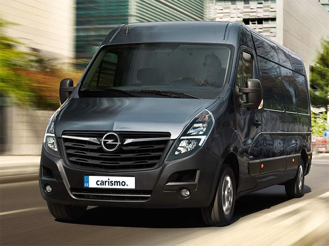 Opel Movano Crew Van - recenze a ceny   Carismo.cz
