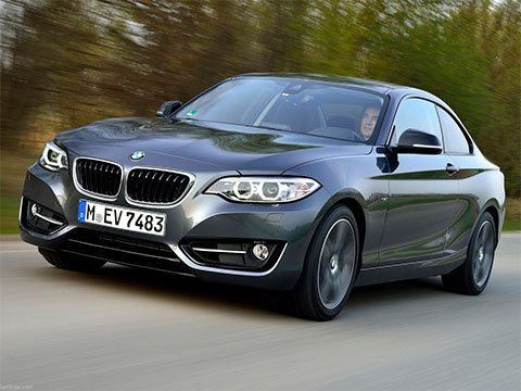 Video: BMW 2 Coupé Jízda