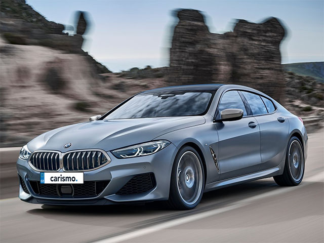 Video: BMW 8 Gran Coupe Jízda