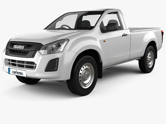Isuzu D-MAX Single Cab - recenze a ceny