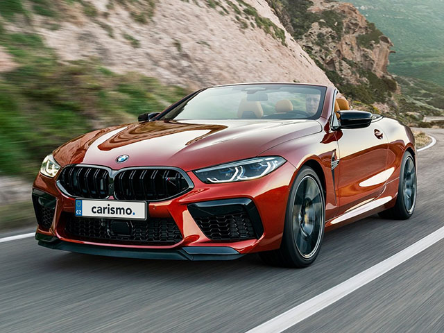 BMW M8 Cabrio - recenze a ceny