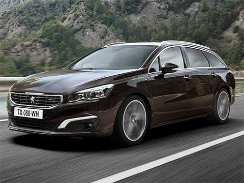 Peugeot 508 SW - recenze a ceny