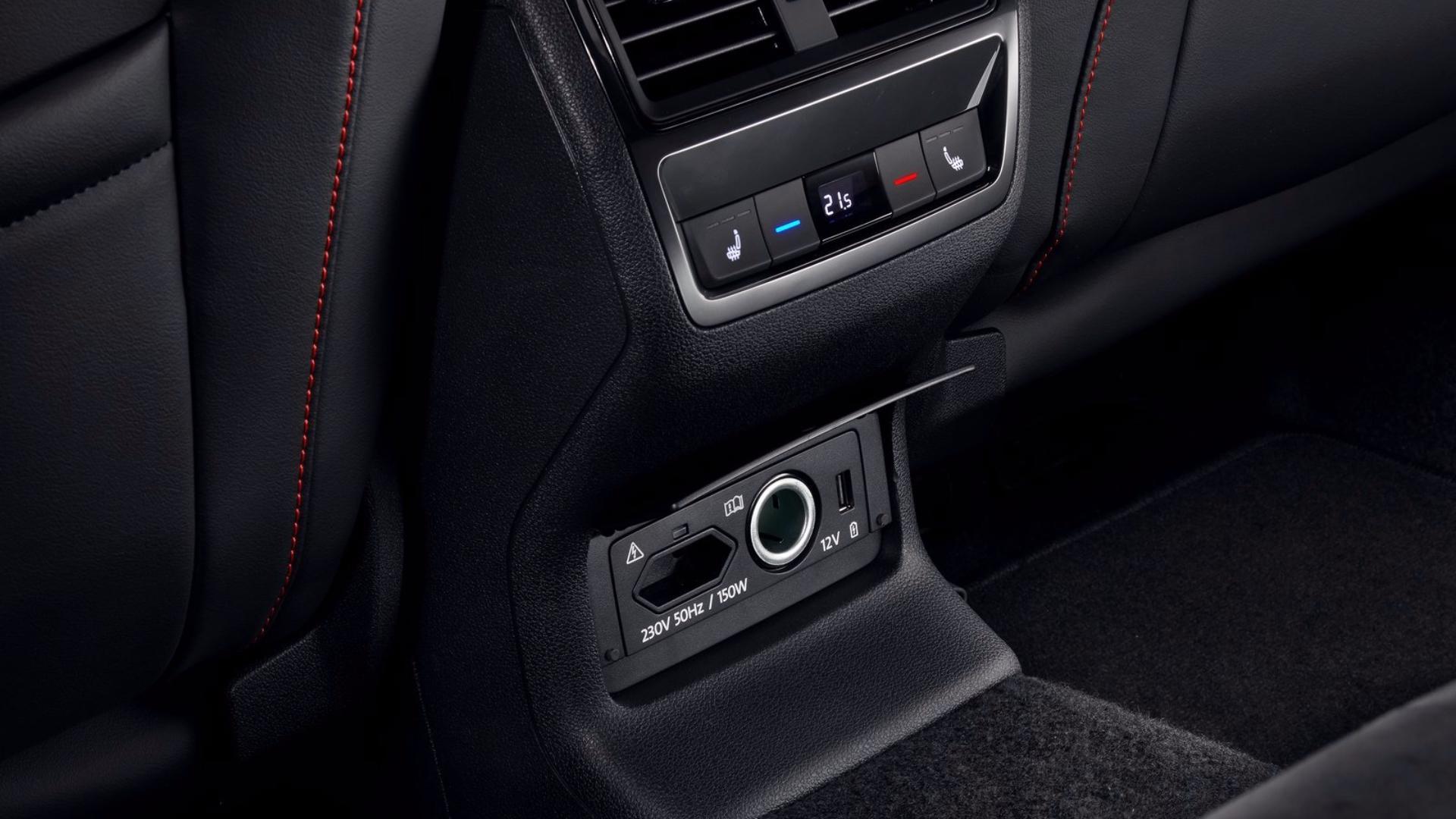Škoda Kodiaq RS: konektivita