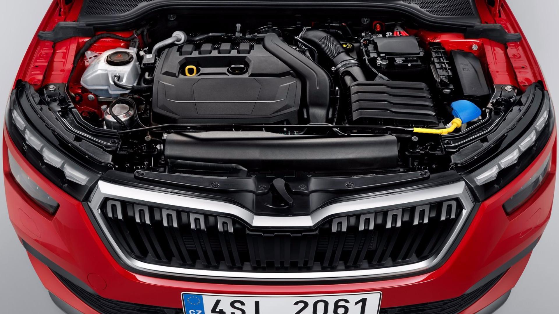 Nová Škoda Kamiq - pod kapotou