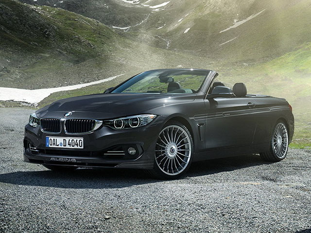 BMW ALPINA D4 BITURBO Cabrio - recenze a ceny