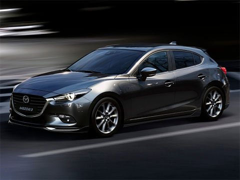 Video: Mazda 3 hatchback crashtest
