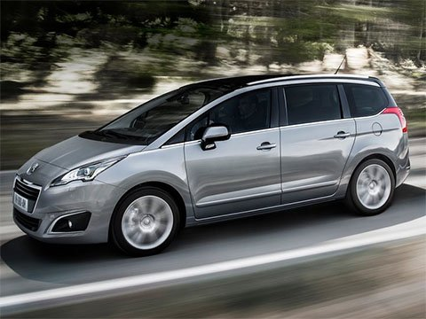 Peugeot 5008 - recenze a ceny