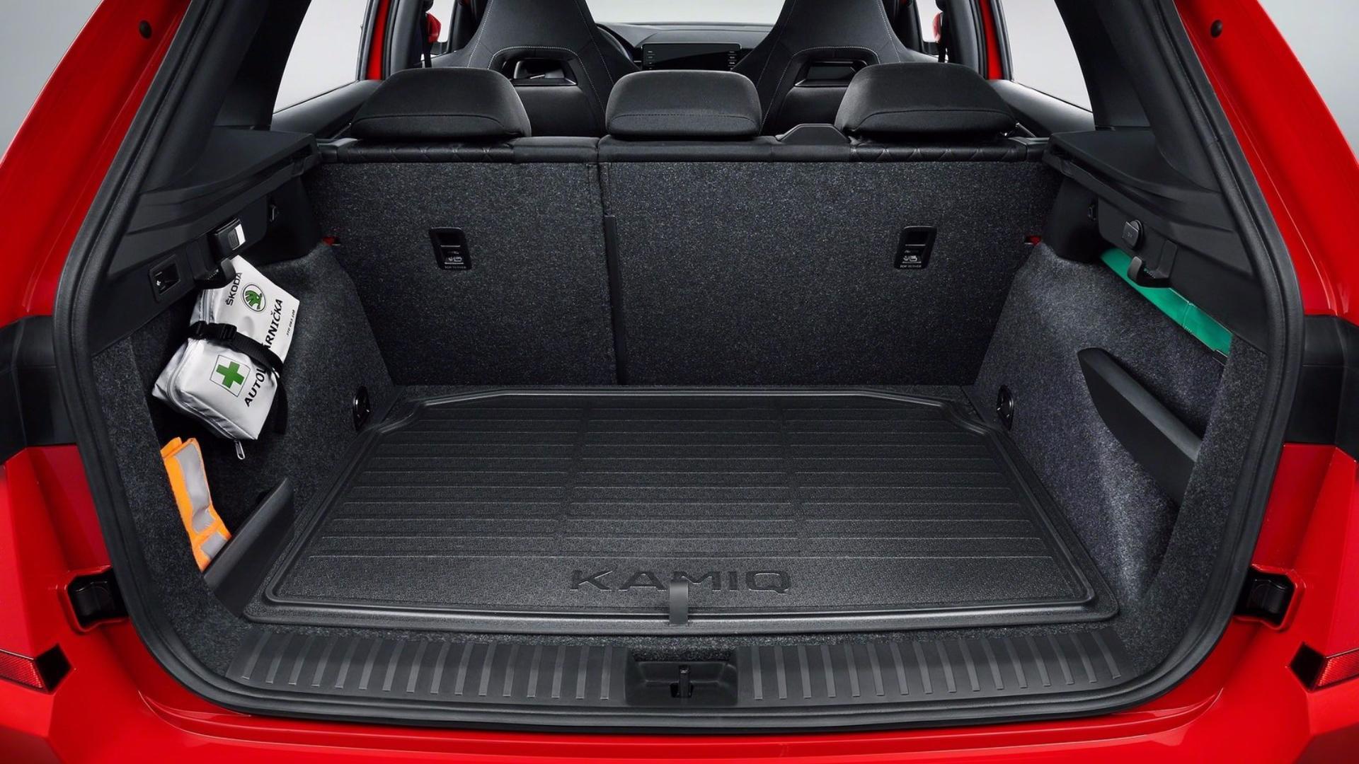 Nová Škoda Kamiq - zavazadlový prostor