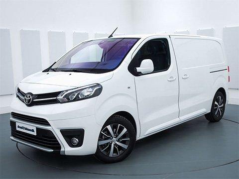 Toyota ProAce - recenze a ceny