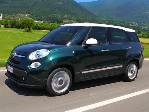 Fiat 500L Kombi - recenze a ceny