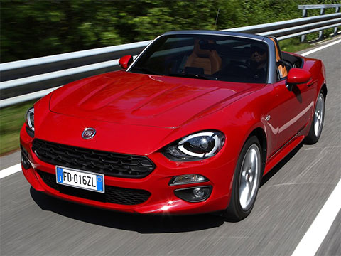 Video: Fiat 124 Spider test