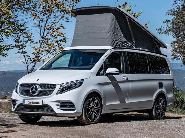 Video: Mercedes-Benz Marco Polo Interiér