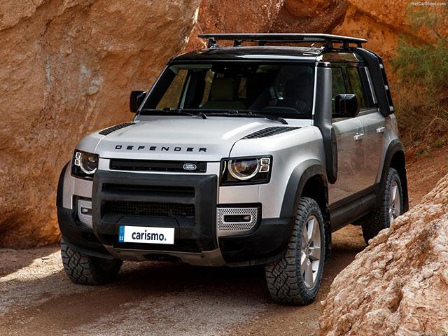 Video: Land Rover Defender 110 Interiér
