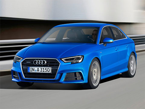 Video: Audi A3 Sedan test