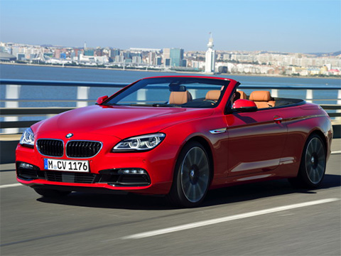 Video: BMW 6 Cabrio Interiér