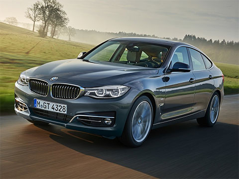 Video: BMW 3 Gran Turismo Zrychlení BMW 3 Series GT 2017 330D