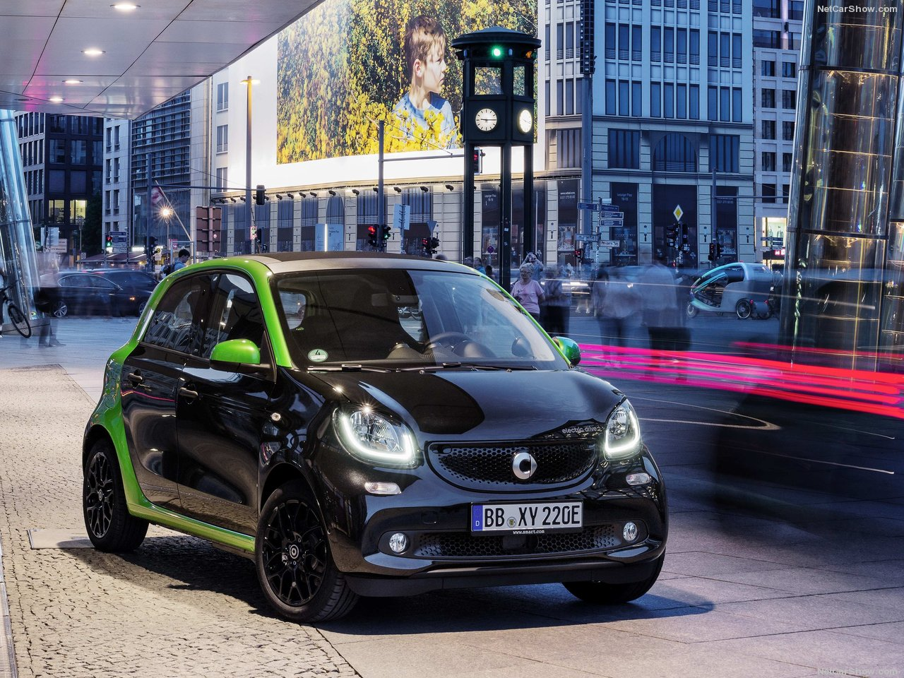Smart EQ forfour electric drive - recenze a ceny