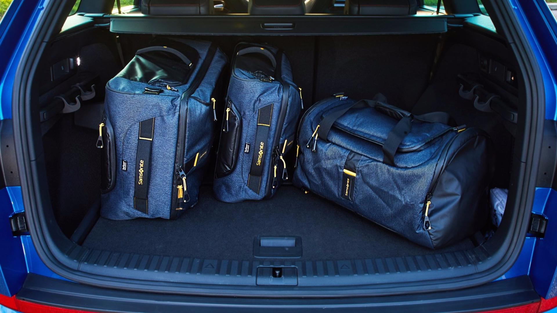 Škoda Kodiaq RS: zavazadlový prostor