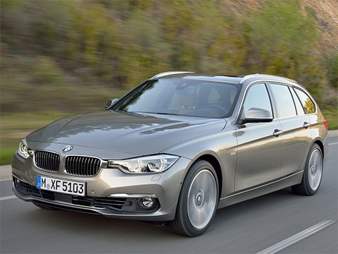 Video: BMW 3 Touring Zrychlení BMW 3 Series 2017 330i