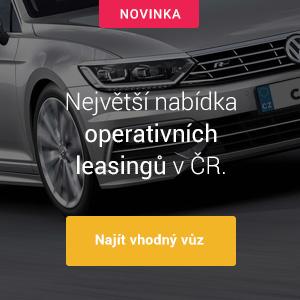 Nejlepší nabídky vozů na operativní leasing